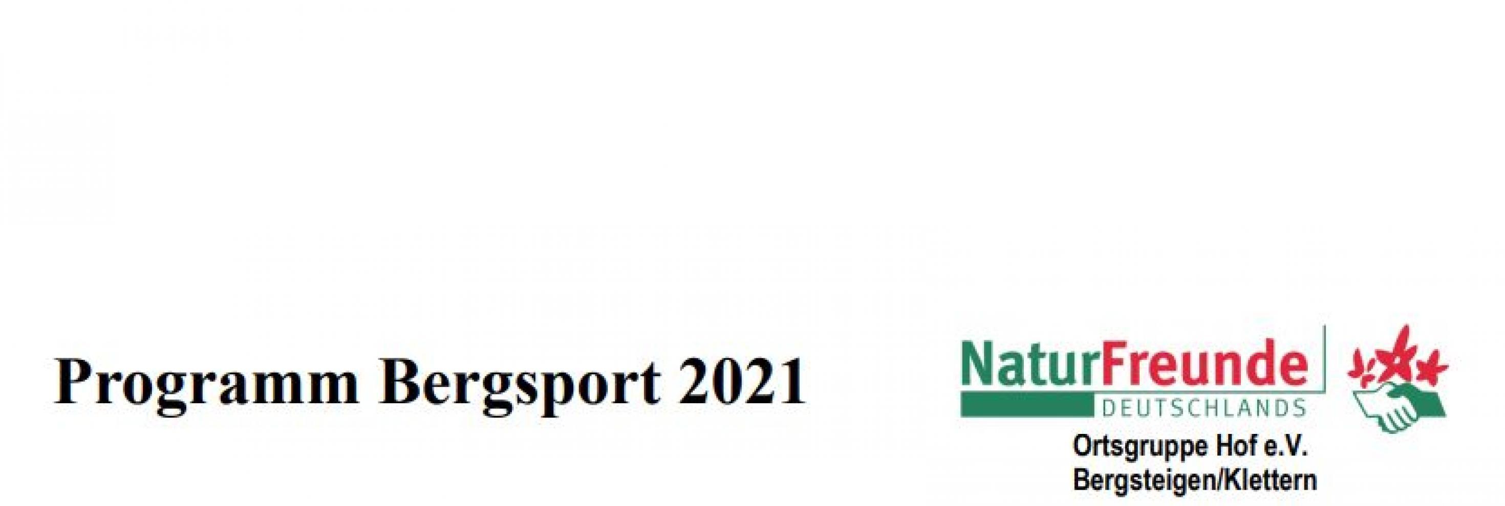 Bergsport 2021